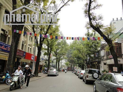 Bán nhà mặt phố Hòa Mã 98m2x5T MT:6m giá 50tỷ