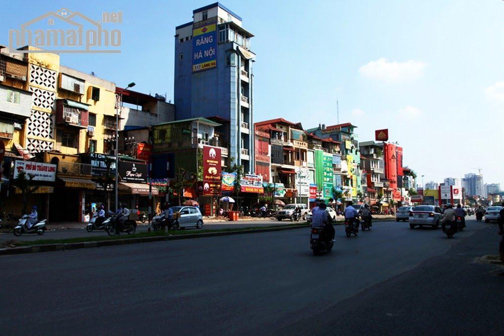 Bán nhà mặt phố Nguyễn Khánh Toàn 157m2x7T MT:6m giá 49tỷ.