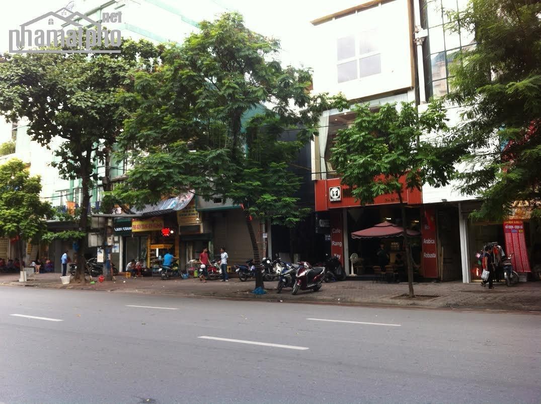 Bán nhà mặt phố Bà Triệu gần bờ hồ 180m2x9T, MT:6m giá 130tỷ