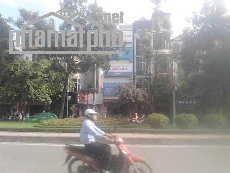 Bán nhà mặt phố Hoàng Quốc Việt 200m2x6T MT:9m giá 64tỷ