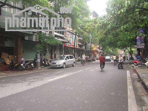 Bán nhà mặt phố Nguyên Hồng 65m2x4T MT:5m giá 23tỷ