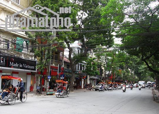 Bán nhà mặt phố Nguyễn Hữu Huân 108m2 MT:6m giá 49tỷ