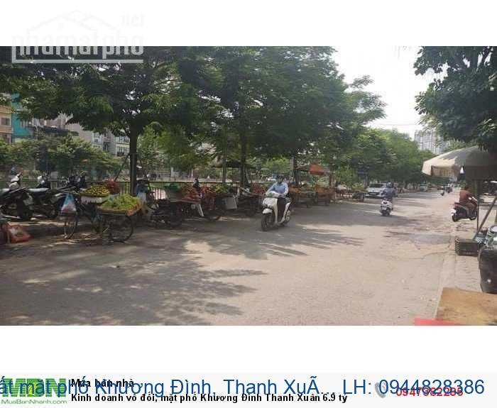 Bán đất mặt phố Khương Đình, Thanh Xuân: 190m2, MT: 7m, giá: 19 tỷ. 09