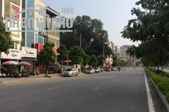 Bán đất mặt phố Nguyễn Văn Huyên 280m2 MT:13m giá 70tỷ