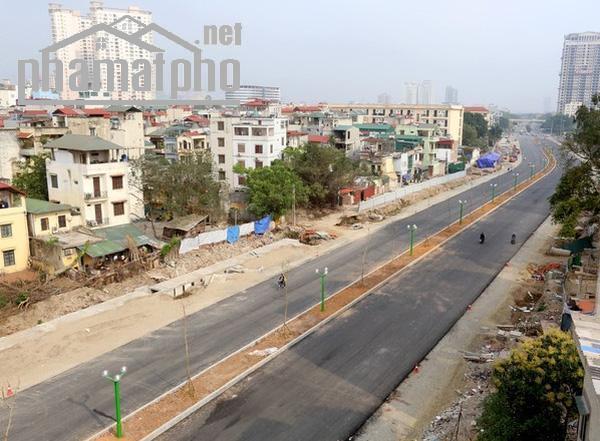 Bán đất mặt phố Nguyễn Văn Huyên 650m2 MT:25m giá 163tỷ