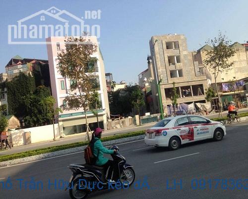 Bán đất mặt phố Trần Hữu Dực kéo dài 220m2 MT:9m giá 66tỷ