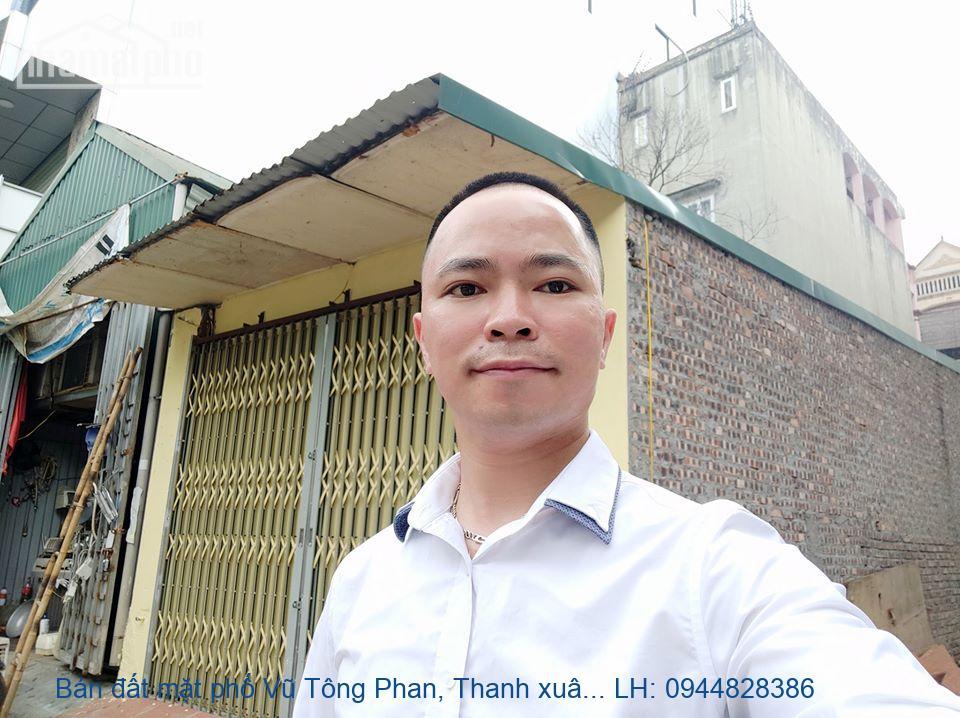 Bán đất mặt phố Vũ Tông Phan, Thanh xuân: 68m, MT: 4,2m. Giá: 12,9 tỷ.
