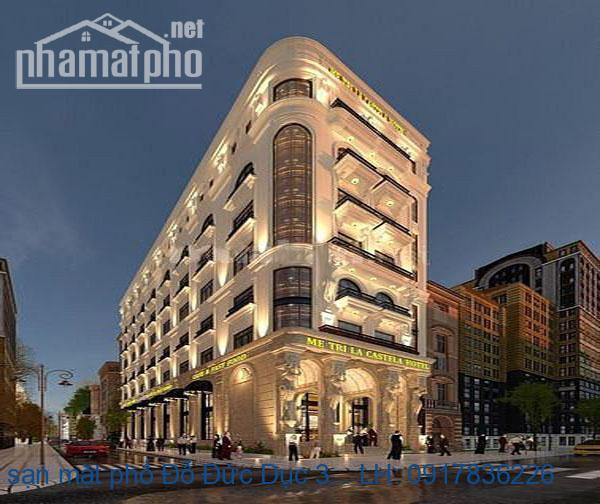 Bán khách sạn mặt phố Đỗ Đức Dục 390m2x9T 64phòng giá 190tỷ