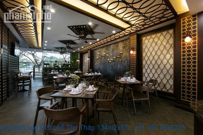 Bán khách sạn mặt phố Thọ Tháp 134m2x8T MT:7m giá 64tỷ