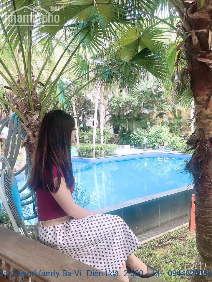 Bán khu Resort family Ba Vì. Diện tích: 2.500m, đã quy hoạch hoàn thiệ