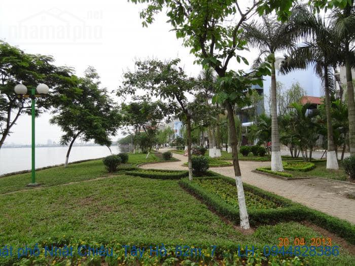 Bán mặt phố Nhật Chiêu, Tây Hồ: 82m, 7 tầng, MT: 4,8m. Giá: 41 tỷ. LH: