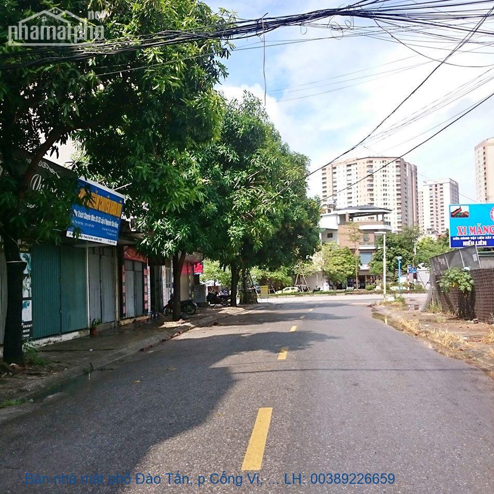 Bán nhà mặt phố Đào Tấn, p Cống Vị, Ba Đình 53m2 giá 31 tỷ