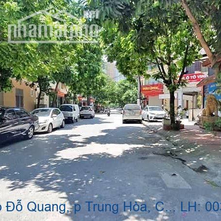 Bán nhà mặt phố Đỗ Quang, p Trung Hòa, Cầu Giấy 95m2 giá 34 tỷ