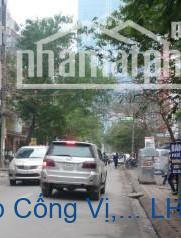 Bán nhà mặt phố Đội Cấn, p Cống Vị, Ba Đình 155m2 giá 40tỷ