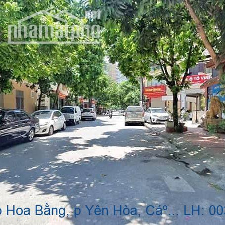 Bán nhà mặt phố Hoa Bằng, p Yên Hòa, Cầu Giấy 50 m2 giá 11,5 tỷ