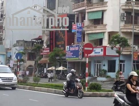 Bán nhà mặt phố Hoàng Quốc Việt 130m2x4T MT:7m  lô góc giá 50tỷ