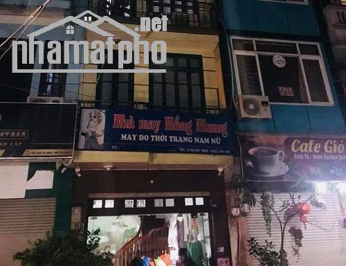 Bán nhà mặt phố Hoàng Quốc Việt 73m2x5T MT:4,6m giá 25tỷ