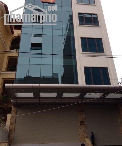 Bán nhà mặt phố Hoàng Quốc Việt 90m2x5T MT:5m giá 33tỷ