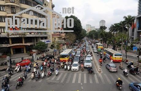 Bán nhà mặt phố Huỳnh Thúc Kháng 165m2x8T MT:9m lô góc giá 116tỷ