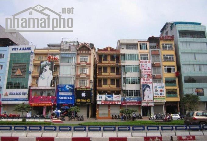 Bán nhà mặt phố Minh Khai, Hai Bà Trưng 80m2x1T MT:6m giá 21tỷ