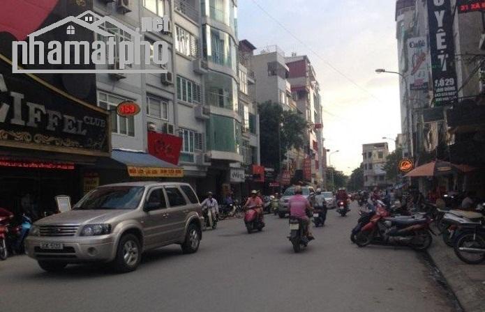 Bán nhà mặt phố Nam Đồng 130m2x9T MT:6m giá 53tỷ