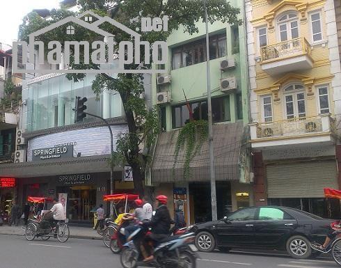 Bán nhà mặt phố Nguyễn Hữu Huân 80m2x5T MT:5m giá 50tỷ