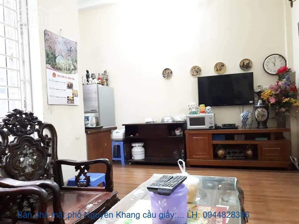 Bán nhà mặt phố Nguyễn Khang cầu giấy: 160m2, MT:8m, giá: 31,5 tỷ: 094