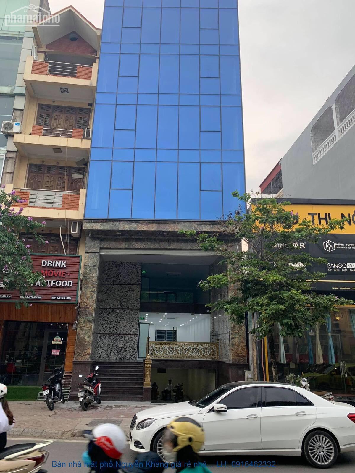 Bán nhà mặt phố Nguyễn Khang giá rẻ nhất thị trường