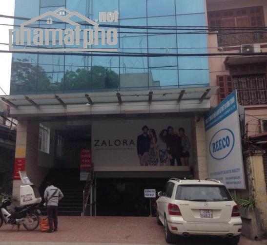 Bán nhà mặt phố Nguyễn Ngọc Vũ 180m2x8T MT:9m giá 62tỷ