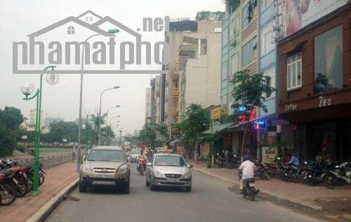 Bán nhà mặt phố Nguyễn Ngọc Vũ 50m2x6T MT:4,3m giá 15,5tỷ