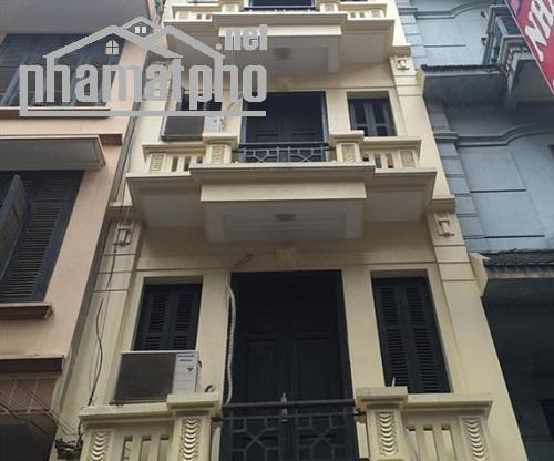 Bán nhà mặt phố Nguyễn Phong Sắc 48m2x5T MT:4m giá 17tỷ