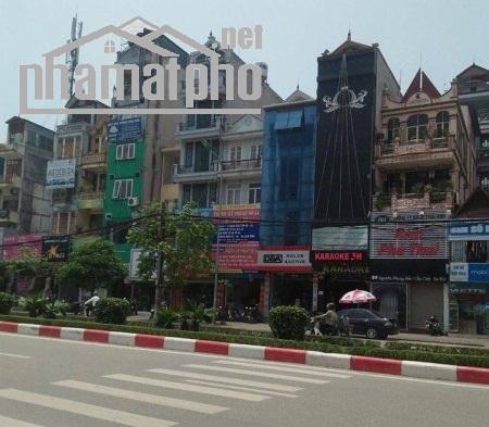 Bán nhà mặt phố Nguyễn Phong Sắc 65m2x5T MT:4,5m lô góc giá 22tỷ