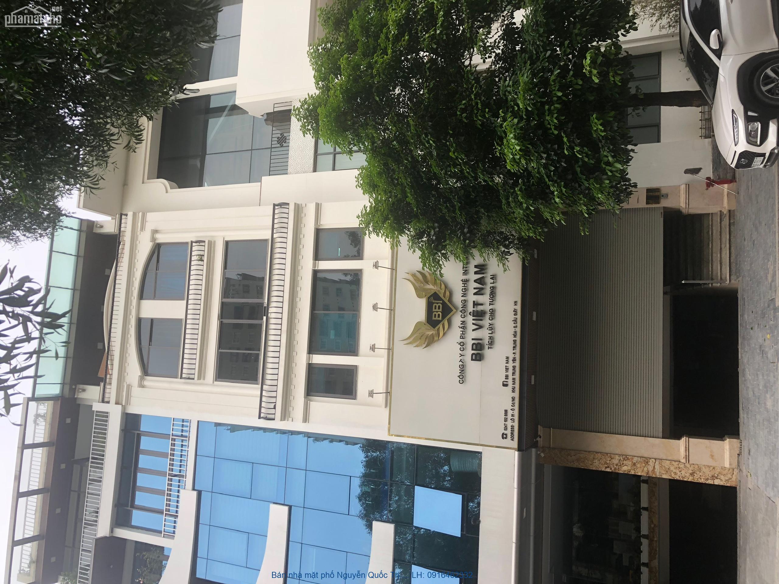 Bán nhà mặt phố Nguyễn Quốc Trị