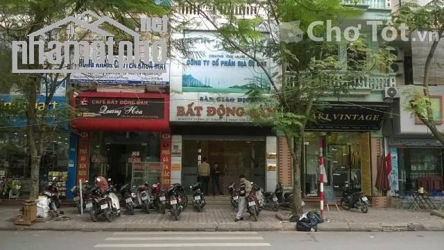 Bán nhà mặt phố Nguyễn Thị Định 45m2x4T giá 17tỷ