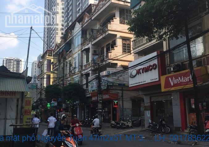 Bán nhà mặt phố Nguyễn Tuân 47m2x5T MT:3,9m giá 17,5tỷ