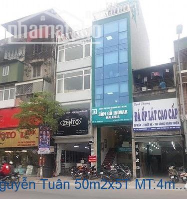 Bán nhà mặt phố Nguyễn Tuân 50m2x5T MT:4m giá 20tỷ