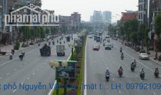 Bán nhà mặt phố Nguyễn Văn Cừ - mặt tiền rộng – kinh doanh