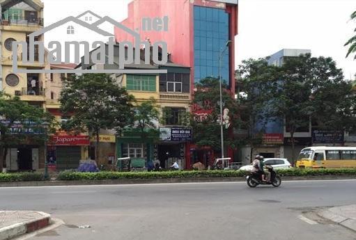 Bán nhà mặt phố Nguyễn Văn Cừ 90m2x6T MT:5m giá 21tỷ