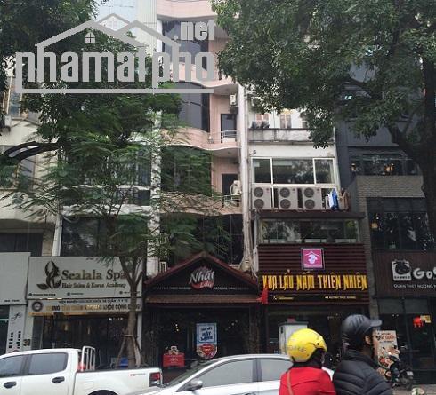 Bán nhà mặt phố Phạm Tuấn Tài 60m2x5T MT:4m giá 17tỷ