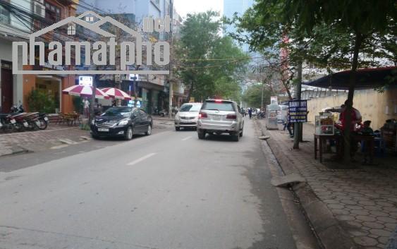 Bán nhà mặt phố Phạm Tuấn Tài 72m2x4T MT:6,8m giá 19tỷ
