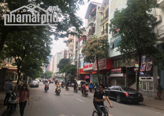 Bán nhà mặt phố Phạm Tuấn Tài 88m2x6T MT:9m giá 26tỷ