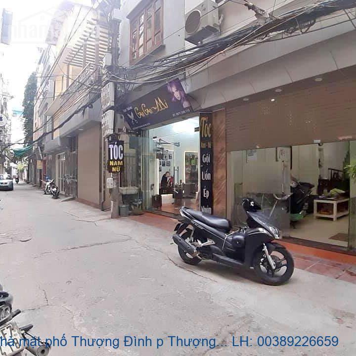 Bán nhà mặt phố Thượng Đình p Thượng Đình, Thanh Xuân 108m2 giá 39