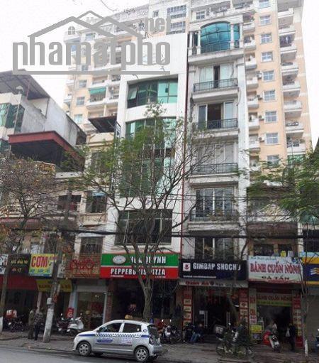 Bán nhà mặt phố Trần Đăng Ninh 68m2x4T MT:6m giá 25tỷ