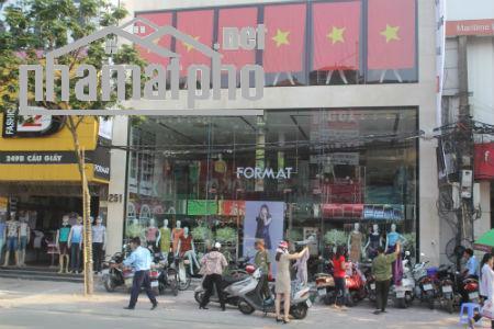 Bán nhà mặt phố Trần Duy Hưng 142m2x8T MT:7m giá 80tỷ