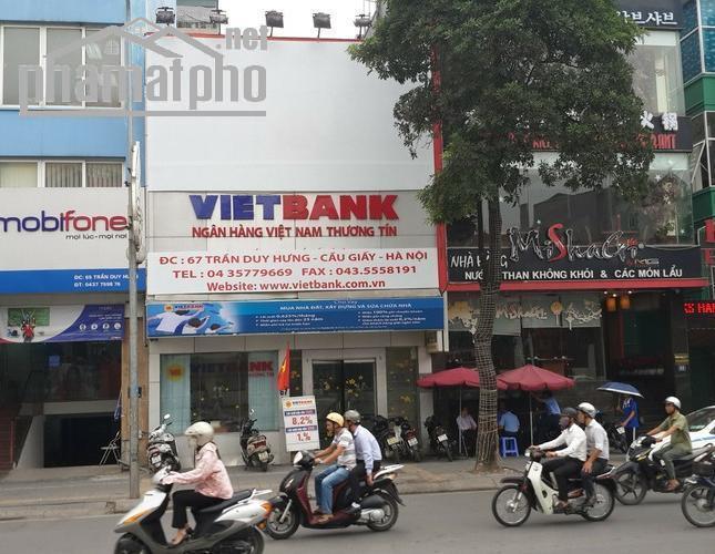 Bán nhà mặt phố Trần Duy Hưng 70m2 MT:6m giá 27tỷ
