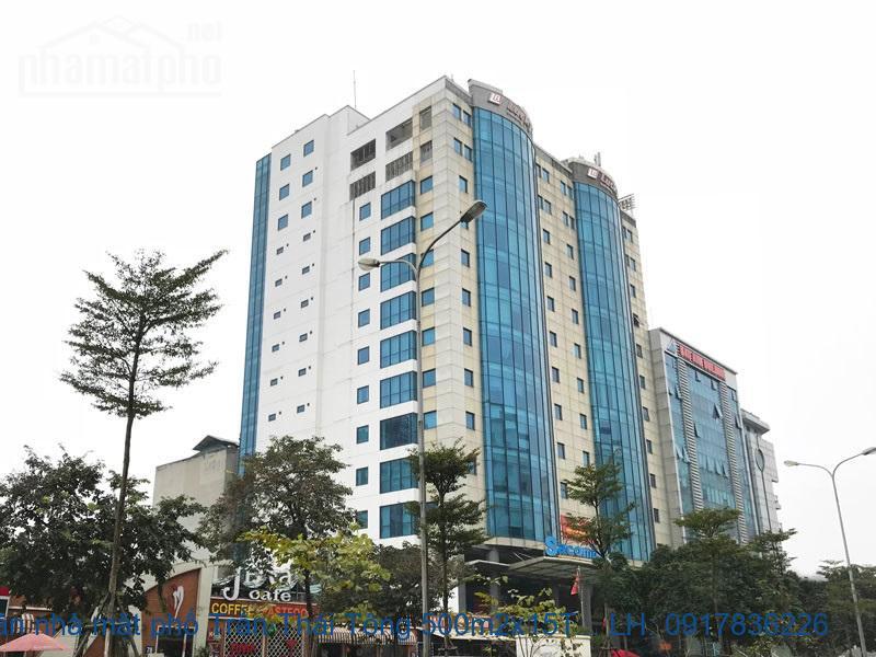 Bán nhà mặt phố Trần Thái Tông 500m2x15T MT:16m giá 270tỷ
