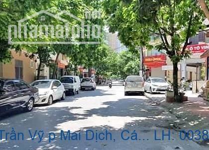 Bán nhà mặt phố Trần Vỹ p Mai Dịch, Cầu Giấy 136m2 giá 46tỷ