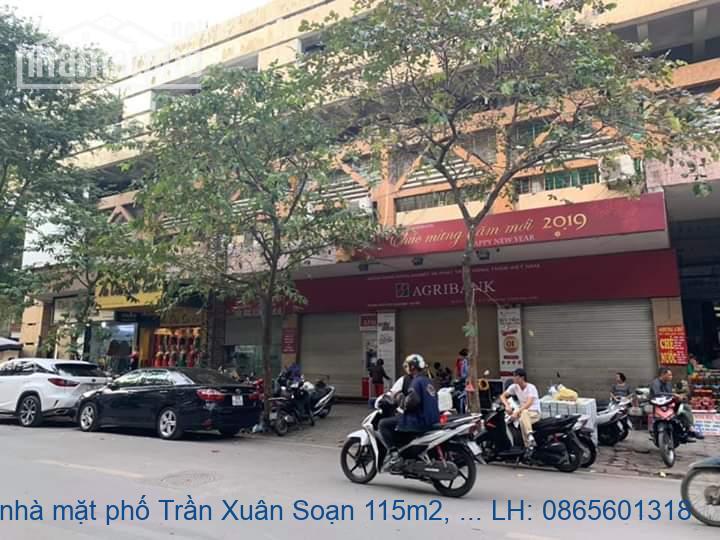 Bán nhà mặt phố Trần Xuân Soạn 115m2, MT4, 5m, 4 tầng, 41 tỷ, vị trí