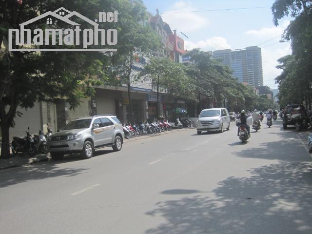 Bán nhà mặt phố Trung Hòa 140m2x5T MT:5,3m ĐB giá 43tỷ