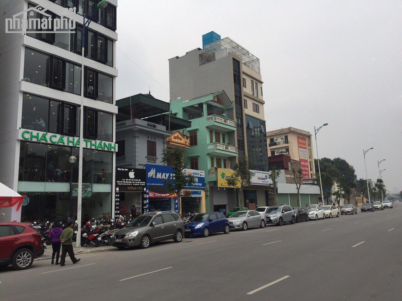 Bán nhà mặt phố Trung Kính 81m2x6T MT:5m giá 36tỷ
